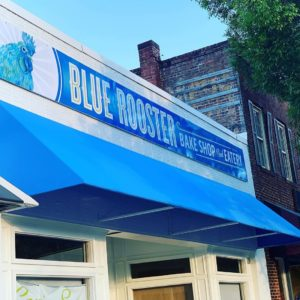 New Blue Rooster Bakeshop location in Monroe Georgia