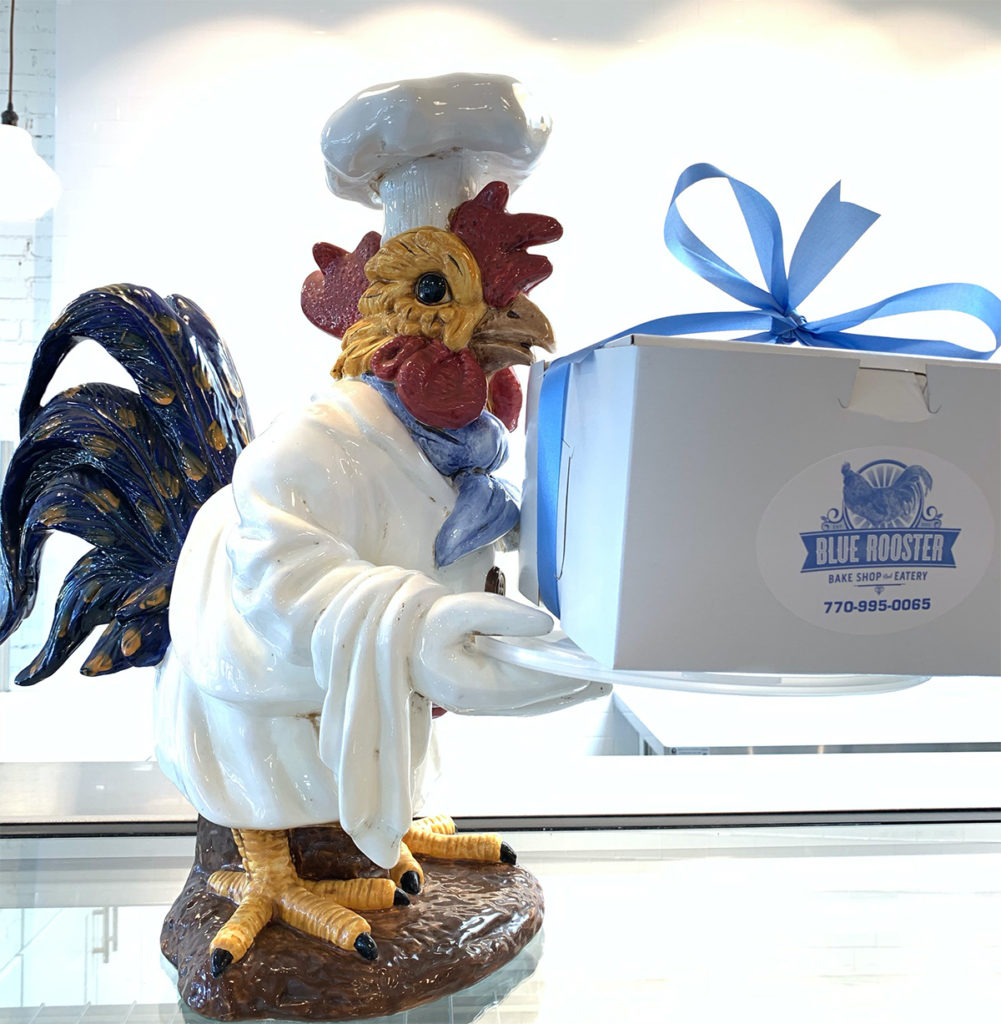 Blue Ribbon Boxed Lunch from Blue Rooster Bakeshop and Eatery