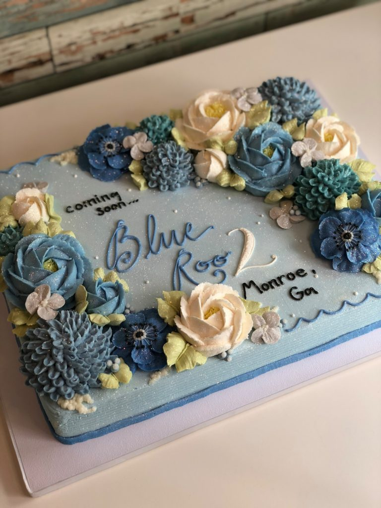 Blue Rooster cakeshop and bakery annouces new location Monroe, GA